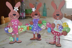 Les lapins de Julie, Céline et Michel